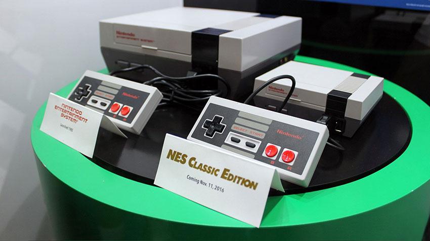 کنسول کلاسیک NES و کنسول NES اصلی