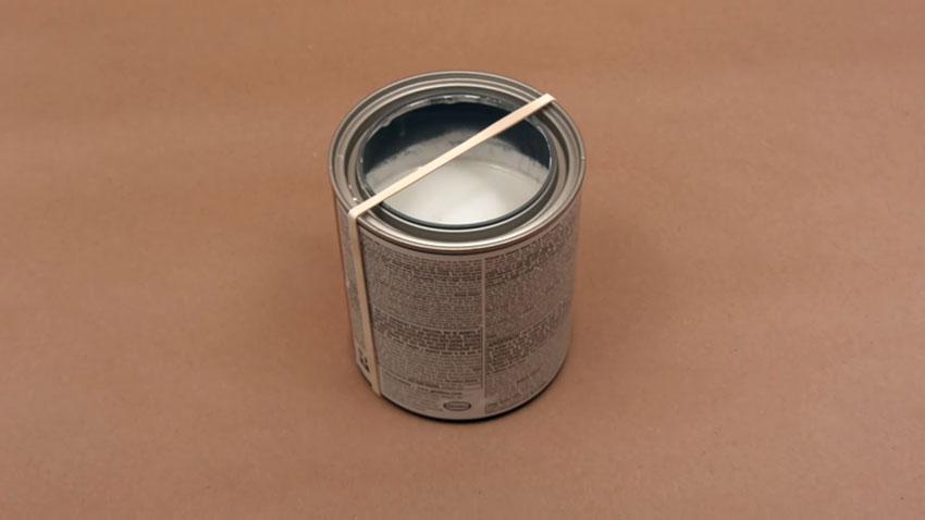 قوطی رنگ (تصویر 4)  خلاقیت کده؛ کاربردهای خلاقانه کشهای لاستیکی Paint Can 04