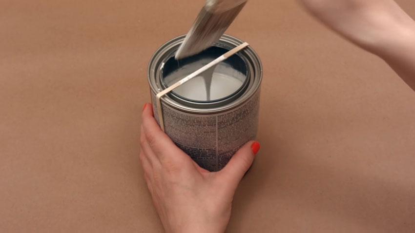 قوطی رنگ (تصویر 7)  خلاقیت کده؛ کاربردهای خلاقانه کشهای لاستیکی Paint Can 07