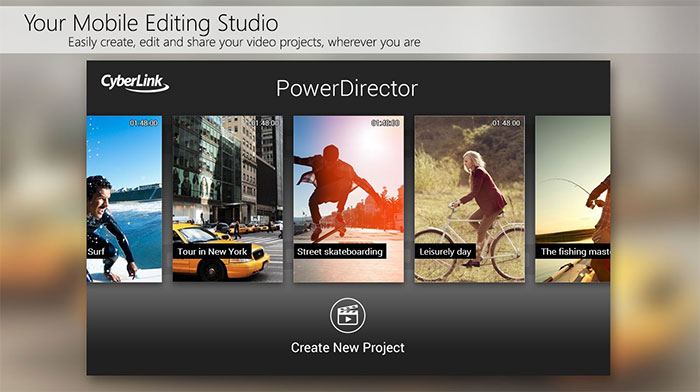 اپلیکیشن PowerDirector Video Editor