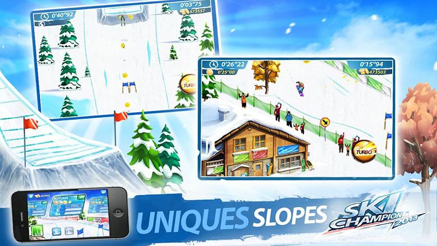 بازی Ski Champion