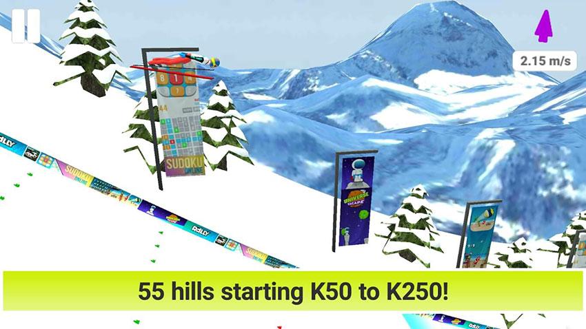 بازی Ski Jump