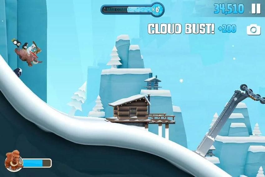 بازی Ski Safari 2