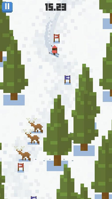 بازی Skiing Yeti Mountain