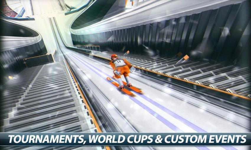 بازی Super Ski Jump