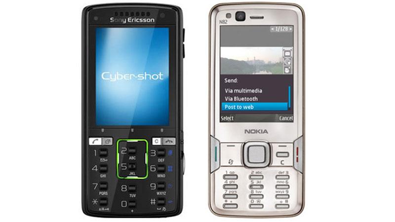 گوشی موبایل دکمهای
