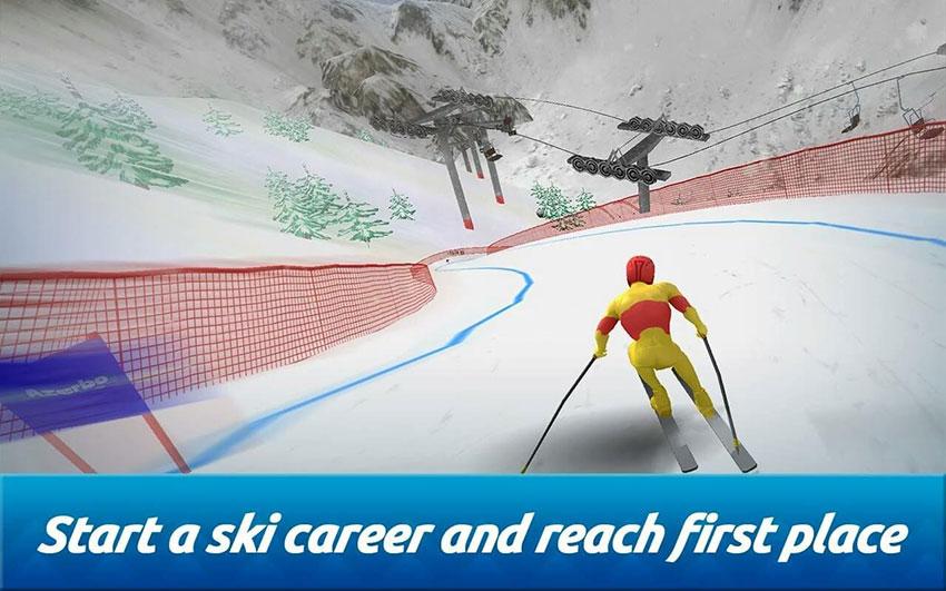 بازی Top Ski Racing