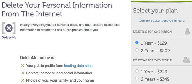 استفاده از DeleteMe برای پاک کردن اطلاعات از همه ی سایت ها