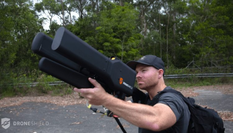 سلاح دستی جدید برای مقابله با پهپادها