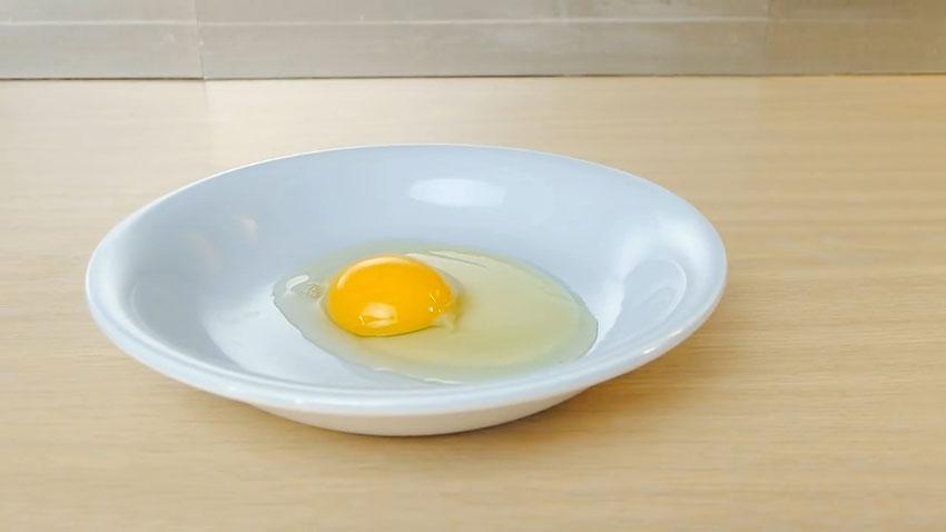 جدا کردن زرده تخم مرغ (تصویر 2)