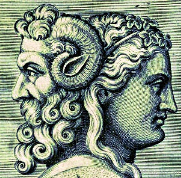 ژانوس، خدای دو چهره رومی