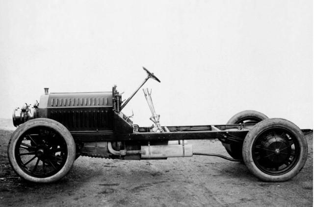 خودروی هیبریدی بنز در سال 1906