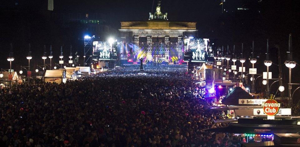 جشن شب سال نو در برلین