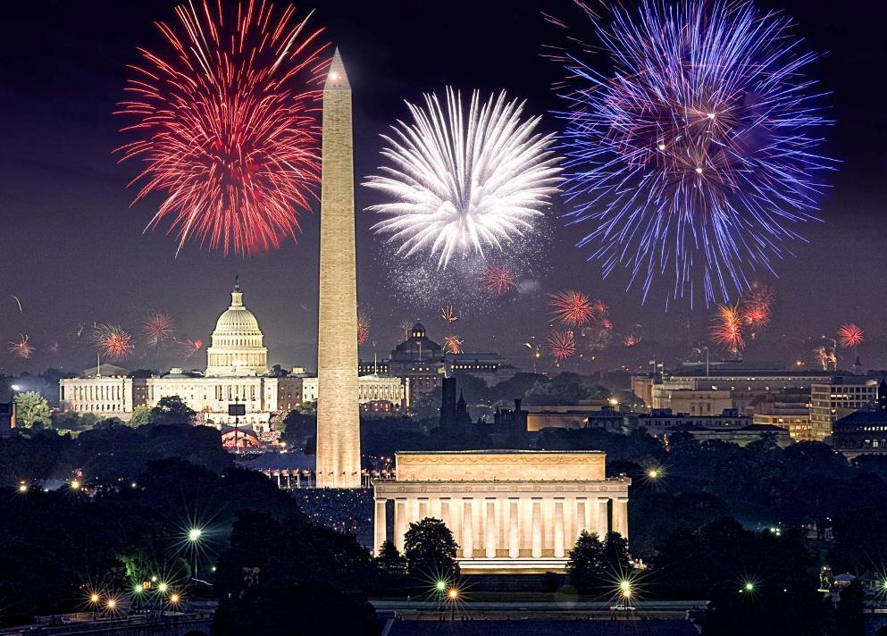 جشن شب سال نو در واشینگتن، دی.سی.