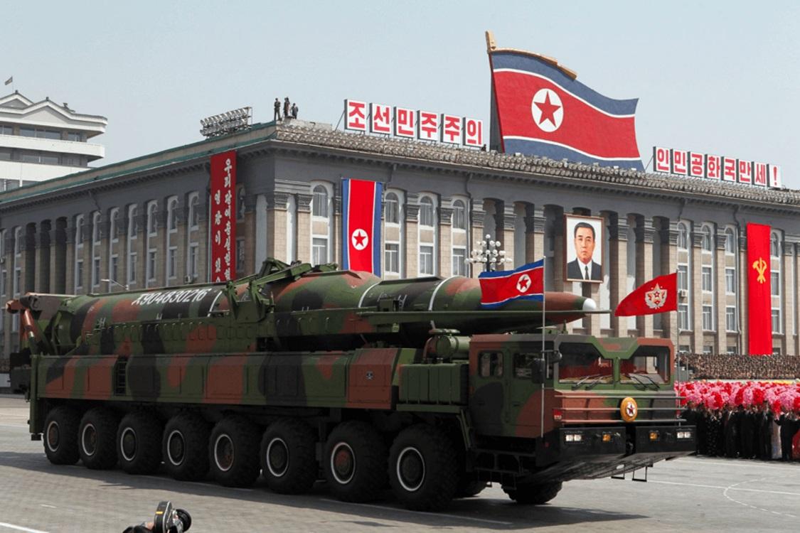 موشک های KN-08 در پیونگ یانگ