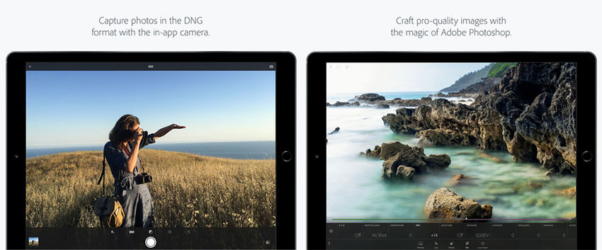 اپلیکیشن Adobe Photoshop Lightroom (تصویر 1)