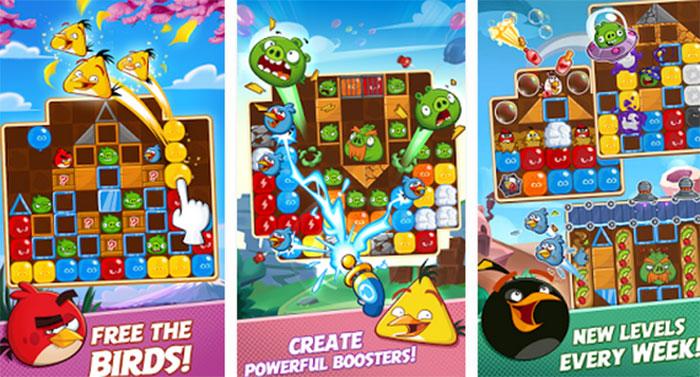 اسکرین شاتهای Angry Birds Blast