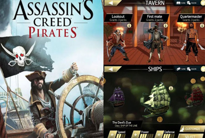 بازی Assasins Creed Pirates