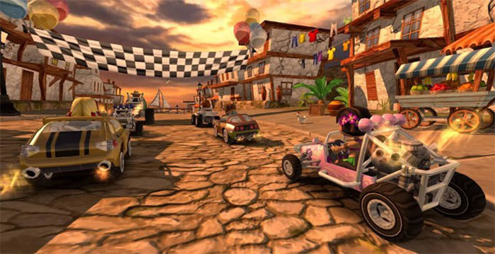 بازی Beach Buggy Racing
