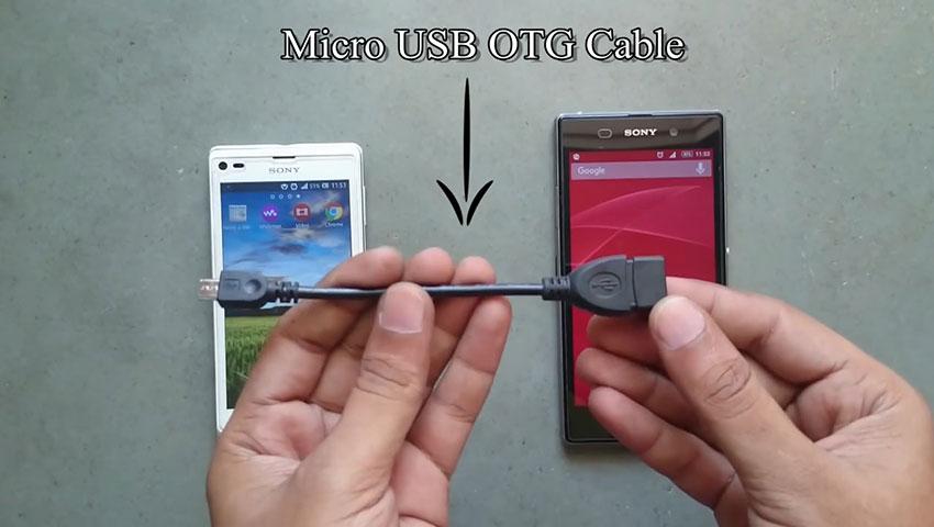 شارژ گوشی با استفاده از یک گوشی دیگر (تصویر 1)