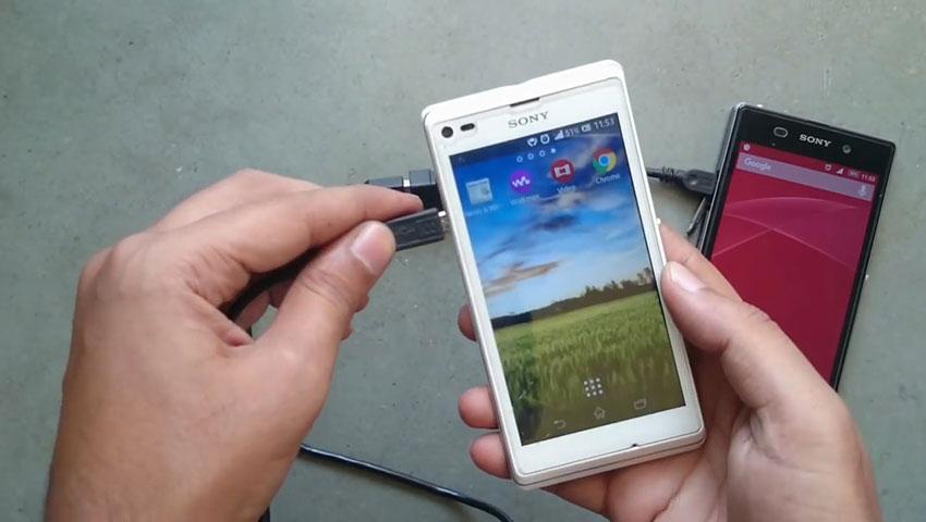 شارژ گوشی با استفاده از یک گوشی دیگر (تصویر 5)