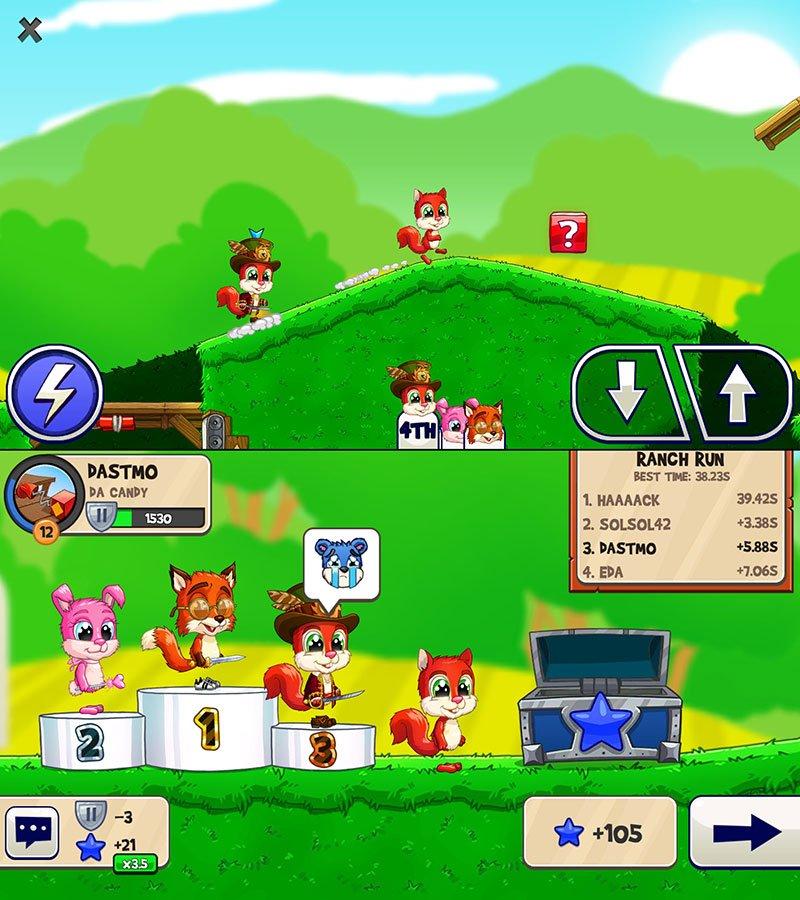 بازی Fun Run Arena Multiplayer Race