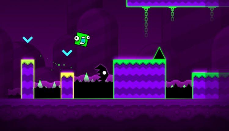بازی Geometry Dash World با طراحی خاطرهانگیز و موسیقی فوقالعاده برای اندروید و آیفون منتشر شد