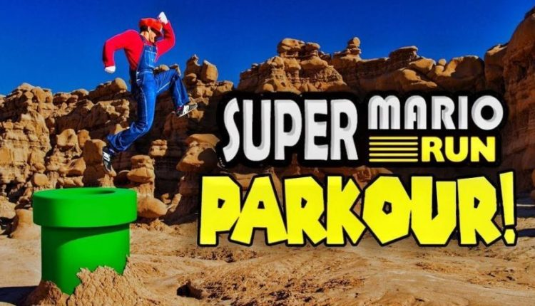 تماشا کنید: سوپر ماریو ران به دنیای واقعی میآید!