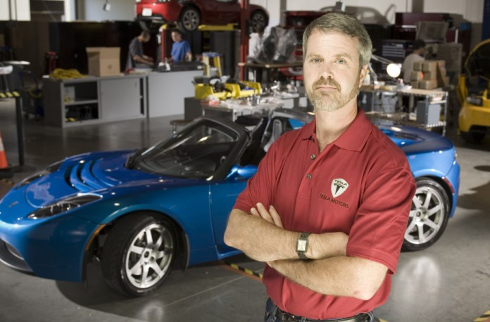 Tesla Motors CEO Martin Eberhard