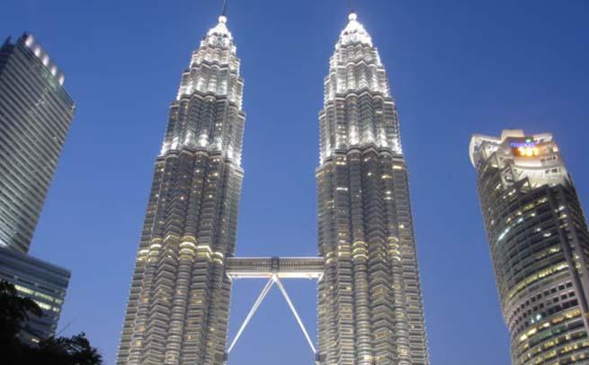 برج های پتروناس مالزی