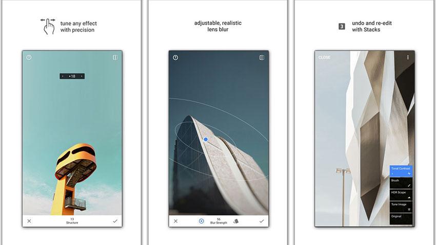 اپلیکیشن Snapseed (تصویر 1)