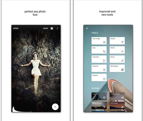 اپلیکیشن Snapseed (تصویر 2)