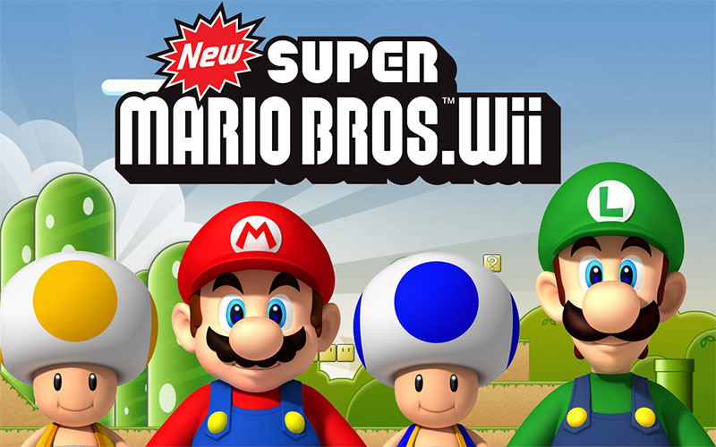 نسخه Wii بازی برادران سوپر ماریو