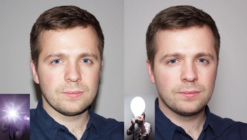 بهبود نورپردازی فلش دوربین، به کمک بادکنک (تصویر 6)
