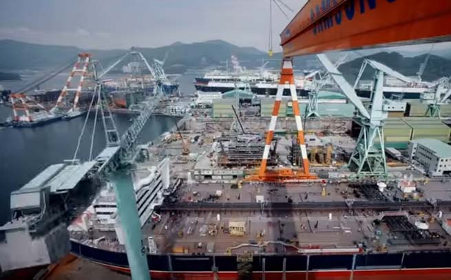 worlds-most-efficient-ship-making-facility-belongs-to-samsung