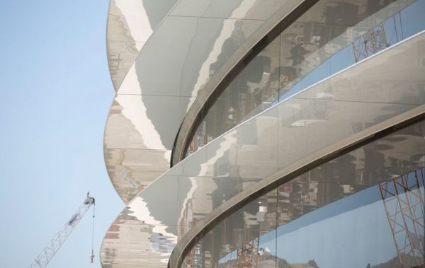پرسپکتیو نمای بیرونی مقر جدید اپل