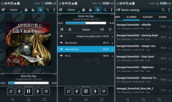 بهترین اپلیکیشن های موزیک پلیر برای اندروید