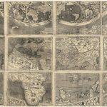 اولین نقشه ای که از کلمه آمریکا در آن استفاده شده