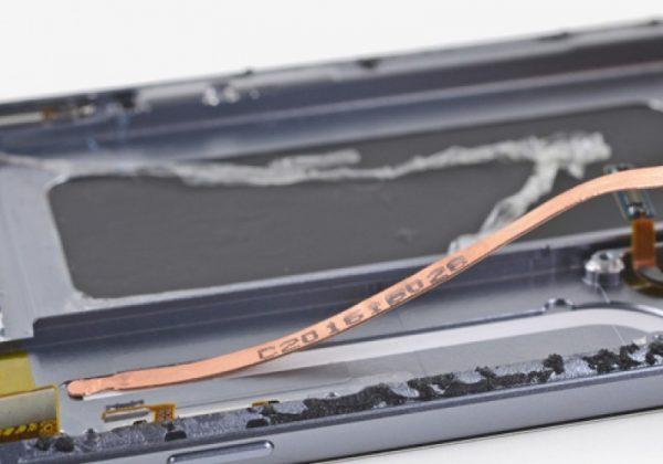 تجهیز گلکسی اس 8 به تکنولوژی لولههای خنککننده استفادهشده در گلکسی اس 7