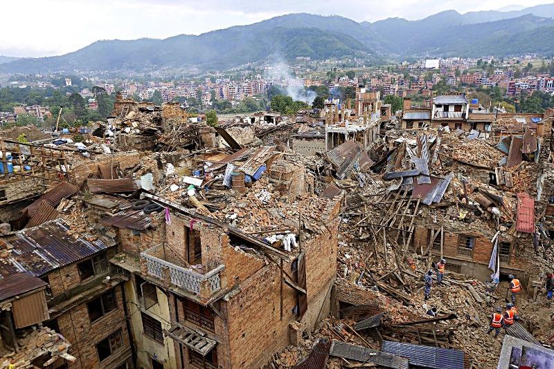زمین لرزه 2015 نپال