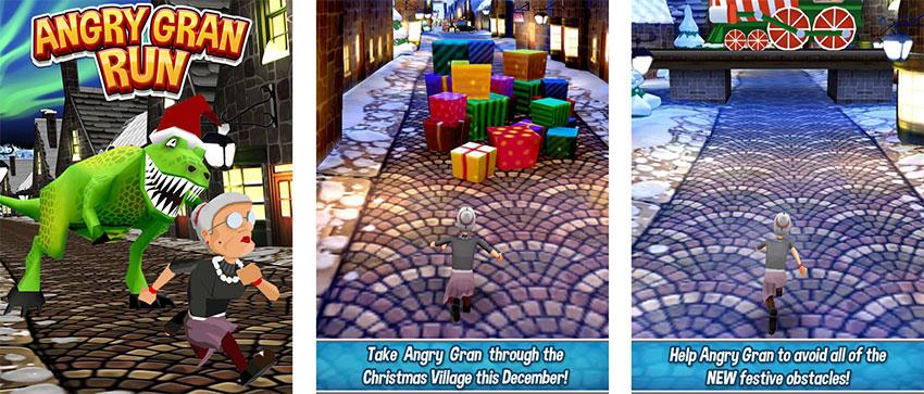 بازی Angry Gran Run
