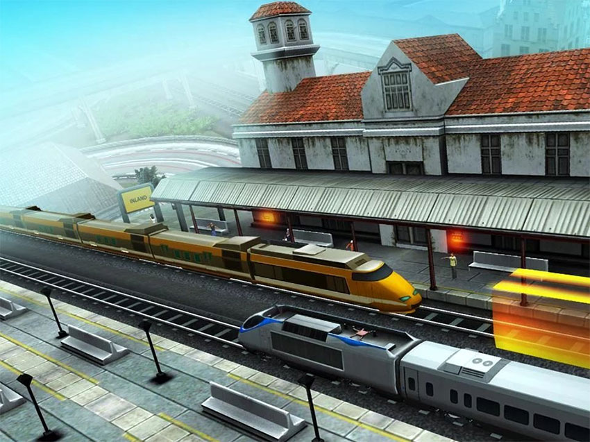 بازی Euro Train Driving Games