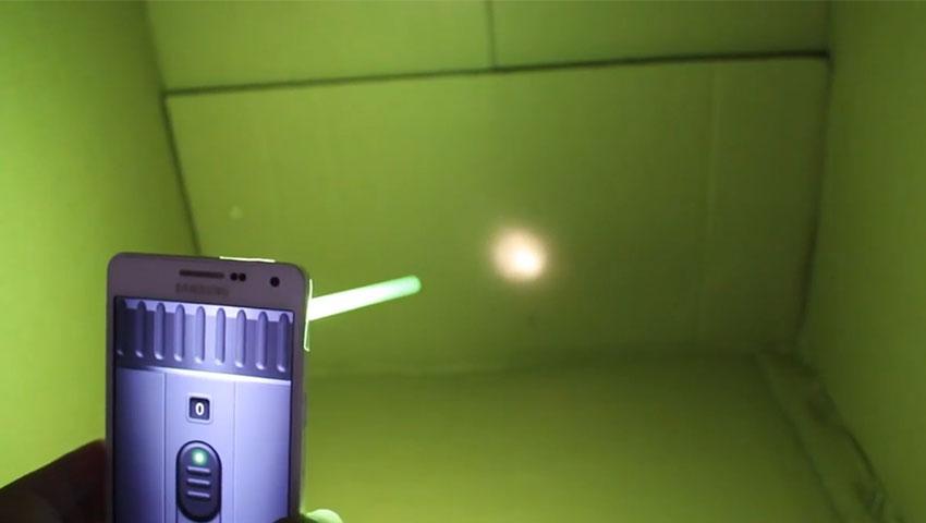 متمرکز کردن نور فلش گوشی (تصویر 10)
