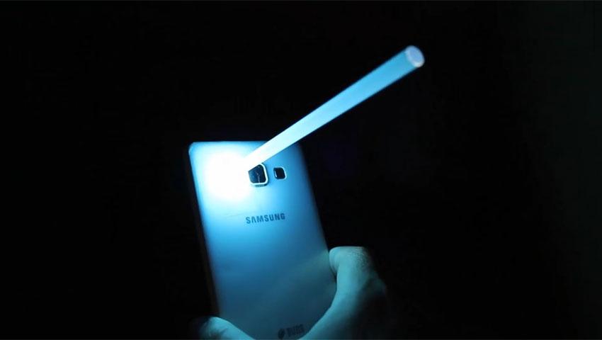 متمرکز کردن نور فلش گوشی (تصویر 11)