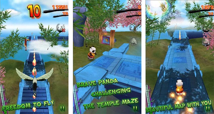 بازی Panda Run HD