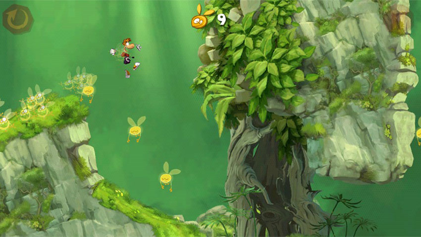 بازی Rayman Jungle Run
