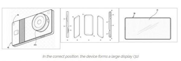 پتنت صفحه نمایش انعطافپذیر سامسونگ (تصویر 3)