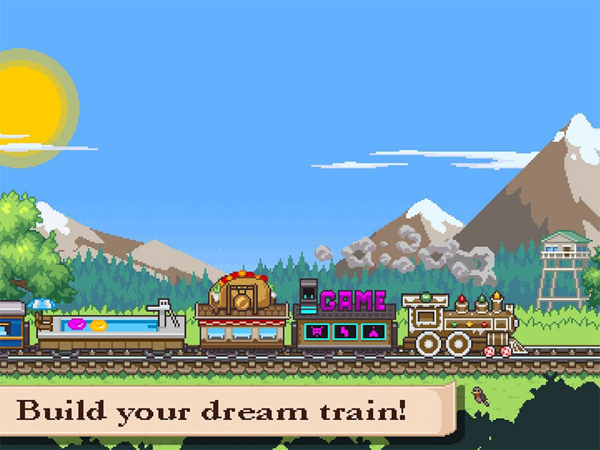 بازی Tiny Rails