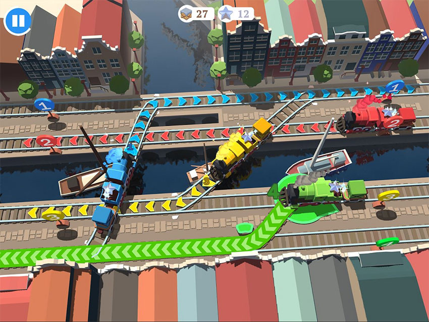 بازی Train Conductor World