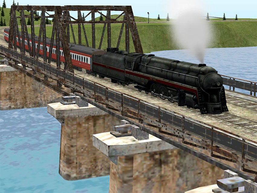 بازی Train Sim